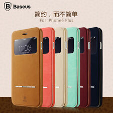 Baseus Smart Magnet Flip PU Leather Cover Case Stand For Smart Phone