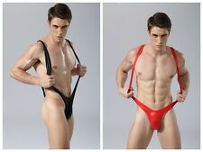 Men's bikini mankini stretch body string sexy lingerie sous-vêtements maillot de bain M / L