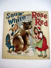 "Vintage Children's Book ""Snow White & Rose Red"" Pics & Verse by Frances Brundage"