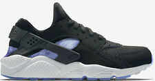 Exclusive Nike Air Huarache Black/Persian Violet-White-Aluminum All Sizes