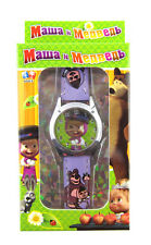 Lot cute girl and bears Children Watch With Box Kids Cartoon Watches gifts