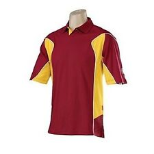 "HUNTS COUNTY MENS MAROON/GOLD CRICKET TOP BNWT SIZE MEDIUM/38"" ONLY £24"