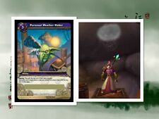World of Warcraft PERSONAL WEATHER MAKER LOOT Card Goblin Weather Machine TOY