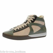 New Men's McQ by Alexander McQueen x Puma Climb Mid Green Fashion Sneakers Shoes