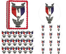 Eagle Scout Court of Honor Emblem Edible Cake Topper Image-ALL SIZES-Half Sheet!