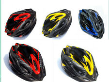 Adjustable Sports Mountain Bike Bicycle Cycling Road Safety Carbon Helmet+Visor