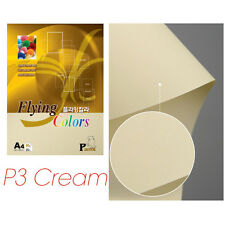 A4 Flying Colors 80gsm Coloured Paper Craft Paper Printer Copier - Cream
