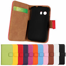 Leather Flip Wallet Case Cover For Samsung Galaxy Y GT-S5360