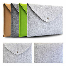 Wool Felt Envelope Sleeve Bag Case For MacBook Samsung Dell Lenovo Laptop Tablet