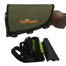 Tourbon Rest Pad Cheek Piece Magazine Pouch Shells Left Handed Rifle Hunt Shoot