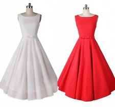 Classical Audrey Hepburn Style 1950's Rockabilly Swing Party Prom Evening Dress