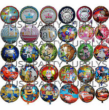 KIDS BOYS/GIRLS THEMED ROUND BALLOON BIRTHDAY PARTY SUPPLIES LOLLY BAG FILLER