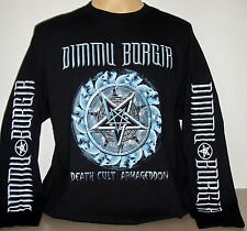 Dimmu Borgir Death Cult Armageddon long sleeve T-Shirt Size M L XL 2XL 3XL Black