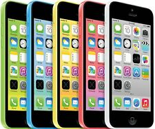 Apple iPhone 5c 16GB (Unlocked) A1532 A1456  White Blue Green Pink Yellow(A+)