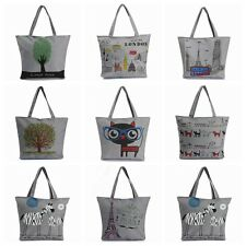 New Fashion Women Lady Canvas Handbag Shoulder Beach Bag Shopping Tote Satchel