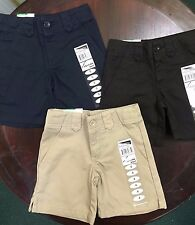 GIRLS UNIFORM SHORTS 617 Universal School Uniform CHOOSE NAVY KHAKI OR BLACK NWT