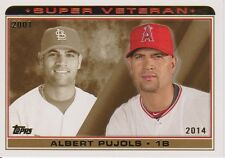2014 Topps Super Veteran Inserts Complete Your Set!!