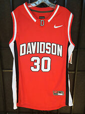 STEPHEN CURRY #30 DAVIDSON WILDCATS RED JERSEY WARRIORS NEW ADULT MVP SPLASH