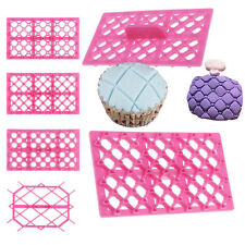 Fondant Cake Sugarcraft Cupcake Equipment Tool Cutter Icing Embosser Mould Mold