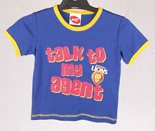 Official AFL Brisbane Lions Toddler Talk to my Agent Tee