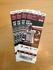 2012 San Francisco Giants Ticket Stubs (unused, expired)