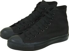 NEW UNISEX ADULT CONVERSE ALL STAR CHUCK TAYLORS HI TOPS (BLACK MONO) RRP:$90