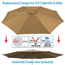 11.5ft Patio Umbrella Cover Canopy 8 Rib Replacement Top Outdoor