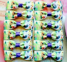 Tinkerbell Hair Clips Party Favour Value Gift Packs Accessories