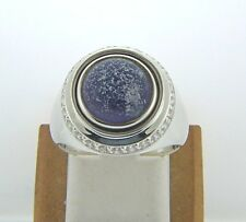 KR034 SIZE 10 NEW AUTHENTIC KAMELEON STERLING SILVER CZ RING