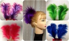 """WILLOW  4"""" HAIR  PIECE on 2- 5"""" WIRES PINK PURPLE RED GREEN BLUE  COLOR CHOICE"""