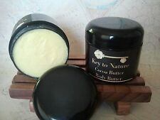 100% Organic Unrefined Cocoa Whipped Butter Body Butter Vegan No Preservatives