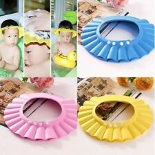 Popular Baby Kids Shampoo Bath Bathing Shower Cap Hat Wash Hair Shield