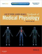GUYTON AND HALL TEXTBOOK OF MEDICAL PHYSIOLOGY 12e  (HARDCOVER) NEW