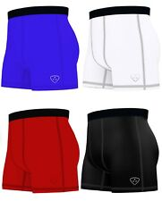 Mens Compression Boxer Shorts Baselayers Sports Briefs skin fit gym shorts