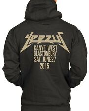 Gold Limited Edition Kanye West Glastonbury 2015 Yeezus Hoodie Yeezy College Bey