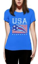 USA Womens Soccer Ball | Flag World Championship 2015 Women T-Shirt US Team