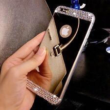 Luxury Bling Mirror TPU Soft Gel Case Skin Cover For iPhone  & Samsung Galaxy