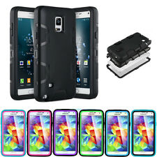 PC Shockproof Dirt Dust Proof Hard Cover Case For SAMSUNG GALAXY Note 4 IV N9100
