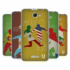 HEAD CASE FOOTBALL RIVALRIES SOFT GEL CASE FOR HTC DESIRE 516 DUAL