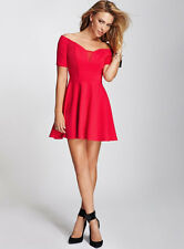 GUESS SEXY Homecoming Red Dress Cocktail Party Valentine's Day Party Dance 4 6