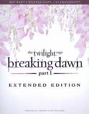 The Twilight Saga: Breaking Dawn - Part 1 (Blu-ray Disc, 2013, Extended;...