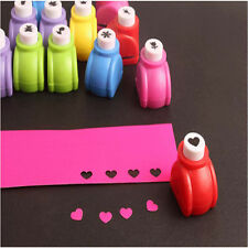 Brand New 6 Style Mini Printing Paper  Craft DIY Mini Punch Cutter Tool For Kids