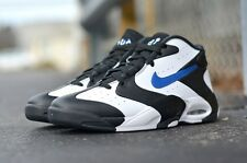 New Nike Air Up Max '14 Flight Penny White/Black/Blue 630929 004 Men's Size 8-13