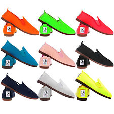 Flossys Javer  Plimsoll Shoes All Colours Men Ladies Adult Sizes Plimsole