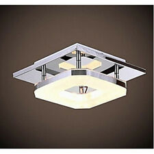 Modern Acrylic LED Ceiling Light Pendant Lamp Stainless Steel Fixture Lighting