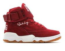 EWING 33 HI 90013-602 BIKING RED/BLACK/WHITE/GUM SOLE - SUEDE - STRAP - PATRICK