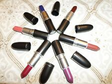 MAC The Matte Lip Collection- Whirl, D for Danger, Men Love Mystery! NIB