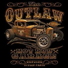 Outlaw Rat Rod Hot Rod Garage T-shirt Small to XXXL