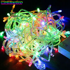 10M 100 LED Fairy String Lights Multi Color Wedding Party Christmas Decoration