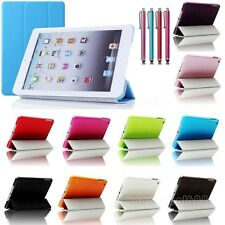 Tri-Fold Slim Magnetic Leather Smart Stand Cover Case For Apple iPad Mini 1 2 3